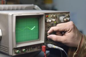 Working with an Oscilloscope