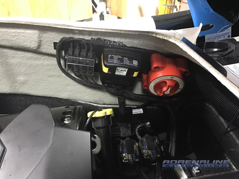 2016 Sea Doo Rxt 260 Audio And Electrical System Upgrades