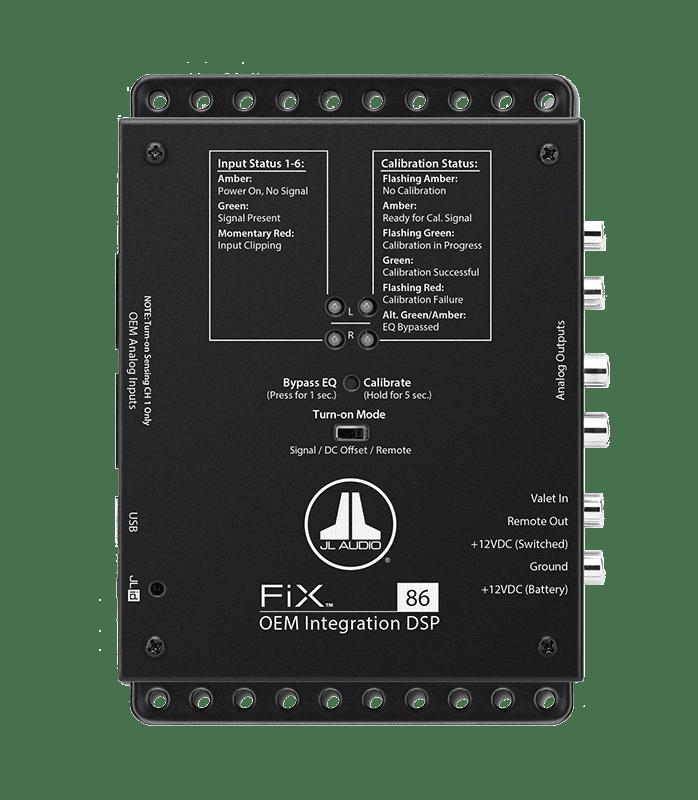 JL Audio FiX Processors