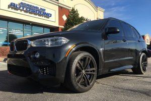BMW X5M Multi-channel Audio