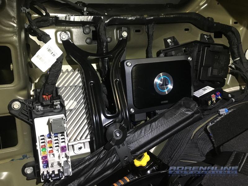 2018 Chevrolet Tahoe Audio System Adrenaline Autosound