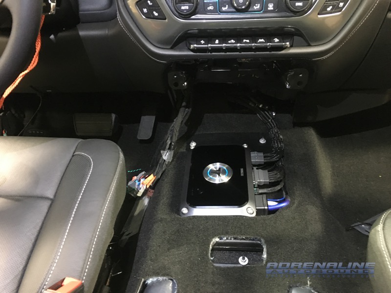 2018 Chevrolet Silverado Audio System Upgrade Adrenaline